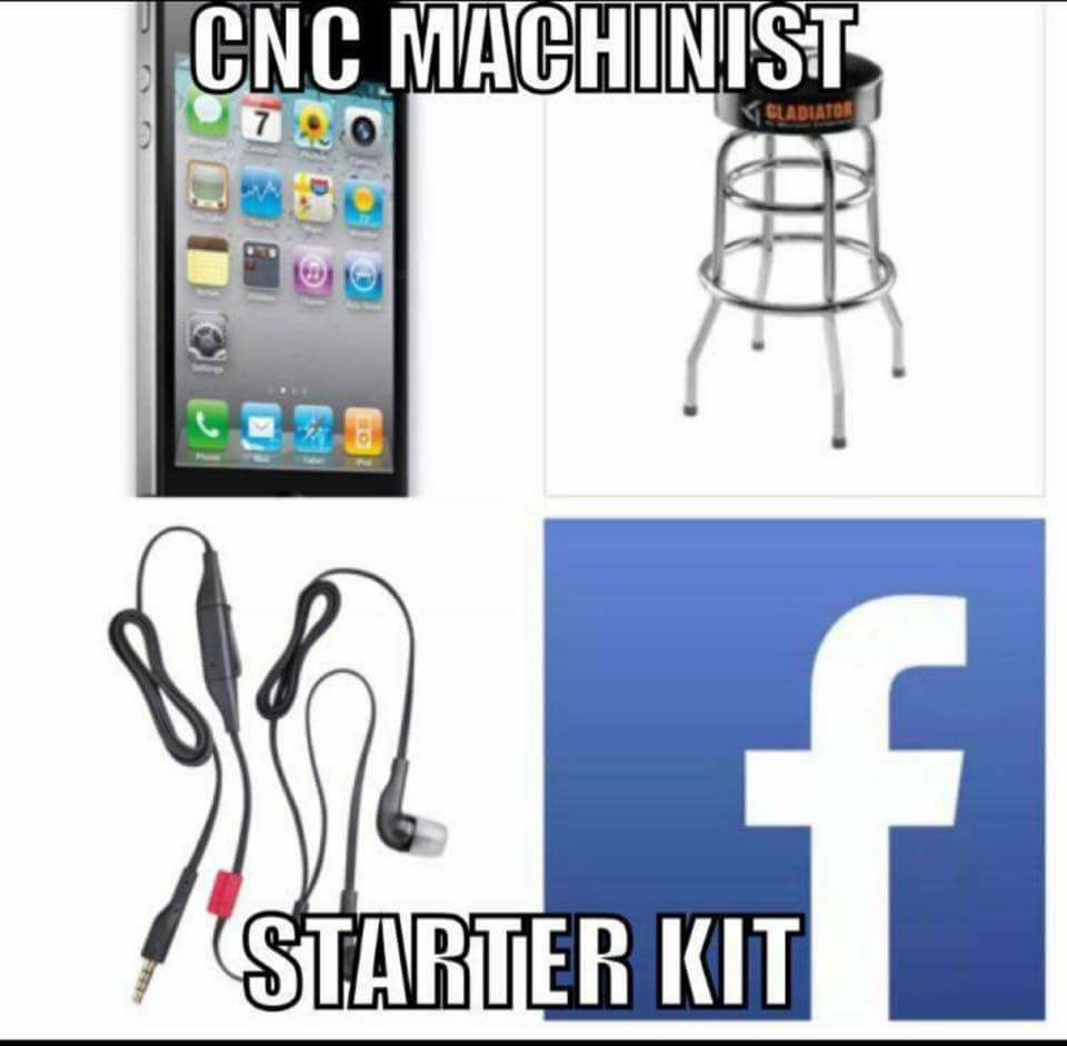 CNC Machinist Starter Kit